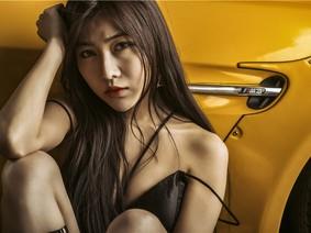 Người mẫu Hàn Tiếu khoe dáng bụi bặm, gợi cảm bên BMW E92 M3 độ
