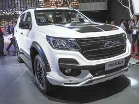 """Chevrolet Trailblazer 2017 """"chen chân"""" vào dòng SUV 7 chỗ tại Việt Nam"""