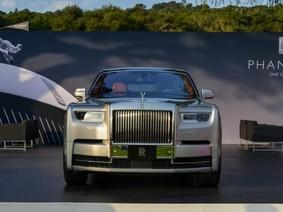 Rolls-Royce Phantom 2018 nổi bật tại lễ hội Pebble Beach