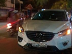 Hải Phòng: Phụ nữ cầm lái Mazda CX-5 gây tai nạn liên hoàn
