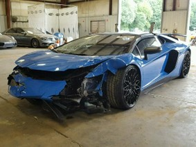 """""""Xế hỏng"""" Lamborghini Aventador SV được chào giá 7 tỷ đồng"""
