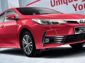 Toyota Corolla Altis cũng có camera toàn cảnh
