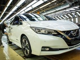 Chiếc Nissan Leaf mới là chiếc xe thứ 150 triệu của Nissan