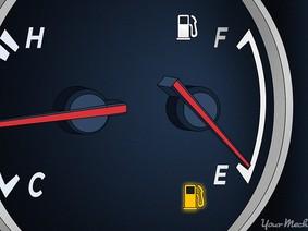 Lái xe được bao xa từ khi có đèn cảnh báo hết nhiên liệu?