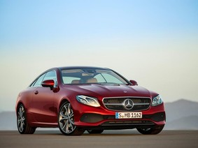 Mercedes E300 Coupe 2018