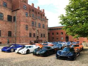 Chiêm ngưỡng dàn siêu xe Koenigsegg số lượng kỷ lục cùng tụ hội tại Thụy Điển