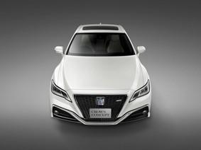 Lộ ảnh concept Toyota Crown thế hệ mới trước ngày ra mắt chính thức