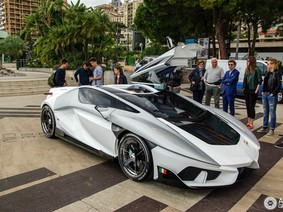 """Siêu xe FV-Frangivento Asfanè từ """"vũ trụ"""" đổ bộ vào Monaco"""