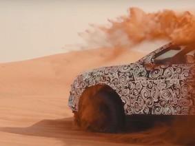 """Lamborghini Urus 2017 thử nghiệm """"lướt gió"""" trên sa mạc cát"""
