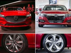 So sánh nhanh 2 mẫu sedan cỡ trung Mazda6 2018 và Honda Accord 2018