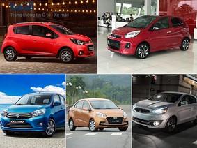 Xe nhỏ giá dưới 400 triệu Đồng chạy trong phố: Chọn xe nào?