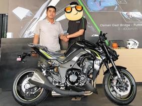 Chỉ mất vài tháng kinh doanh dế, nam thanh niên đã đập hộp Kawasaki Z1000R gần nửa tỷ Đồng