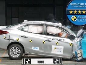 Toyota Vios 2018 có an toàn khi xảy ra tai nạn hay không?