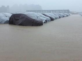 Hyundai Thành Công phản hồi về thông tin lô xe Hyundai Grand i10  ngập nước trong đợt ngập lụt ở Ninh Bình