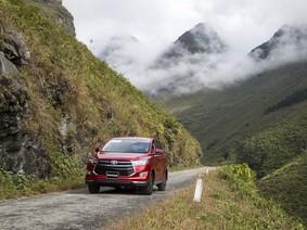 Toyota đã bán tổng cộng 59.355 xe cho người Việt trong năm 2017