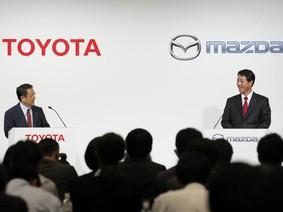Toyota và Mazda đầu tư 1,6 tỷ USD xây nhà máy sản xuất ô tô tại Mỹ