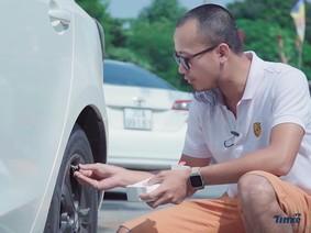 Kiểm soát áp suất lốp ngay trên điện thoại - an toàn hơn, tiện lợi hơn