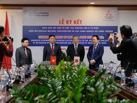 Bộ Công Thương ký hợp tác phát triển xe điện với Mitsubishi Motors
