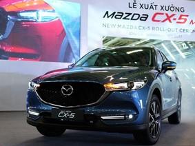 Cập nhật giá mới nhất của Mazda CX-5 trong tháng 1/2018