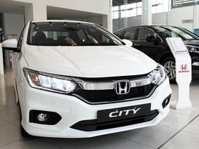 Giá xe Honda City cập nhất mới trong tháng 1/2018
