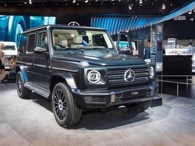"""""""Mãn nhãn"""" với vẻ đẹp ngoài đời thực của """"vua địa hình"""" Mercedes-Benz G-Class 2019"""