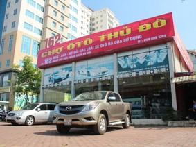 Chợ ô tô cũ vắng khách dịp cận Tết
