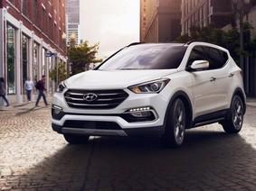 Giá bán Hyundai SantaFe cập nhật mới trong tháng 1/2018