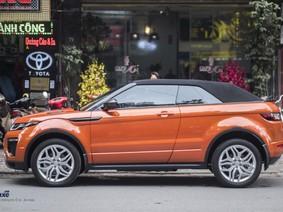 Cận cảnh Range Rover Evoque Convertible của nữ biker nổi tiếng Hà thành