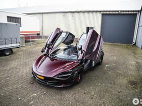 Làm quen chiếc McLaren 720S có màu sơn tương tự như bản đặc biệt Velocity