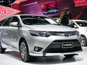Cập nhật giá bán tháng 1/2017 của Toyota Vios