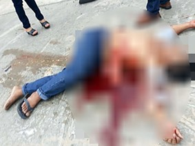 Quảng Nam: Bị tấm tôn trên xe bò cứa vào bụng, 2 người đi xe máy tử vong
