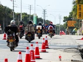 """Dàn mô tô xuất hiện trên đường """"Xuân Vận"""" ở Trung Quốc"""