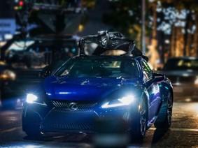 """Xe sang Lexus LC 500 2018 cực hầm hố trong bom tấn siêu anh hùng """"Báo Đen"""""""