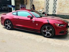 """Đến lượt Ford Mustang thế hệ thứ 6 tại Đồng Nai mang bộ mâm cực chất """"hổ mang chúa"""" hơn 200 triệu Đồng"""