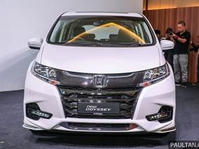 Chi tiết xe Honda Odyssey 2018 mới đặt chân đến Đông Nam Á