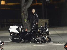 Rẽ bất ngờ, nữ tài xế lái Toyota Highlander gây tai nạn cho mô tô hộ tống Thủ tướng Canada