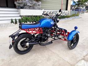 Từ Honda Wave 4 triệu Đồng, thợ Bình Định cho ra đời mẫu xe độ 3 bánh dành cho người khuyết tật