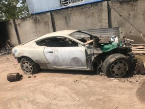 Số phận siêu xe Aston Martin DB9 gặp nạn tại Việt Nam vào năm 2008 giờ ra sao?