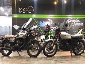 Lô xe Kawasaki W175 chính hãng đầu tiên về Việt Nam chiều 27 Tết, giá từ 66 triệu Đồng