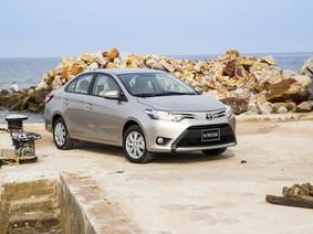 Toyota bán 5.131 xe, dẫn đầu về thị phần trong tháng 1/2018