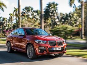 Diện kiến BMW X4 2019 - đối thủ nặng ký của Mercedes-Benz GLC Coupe