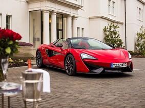 Cận cảnh chiếc McLaren 570S Spider chế tạo riêng cho ngày Valentine của một đại gia