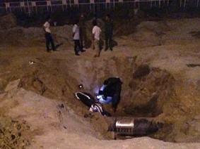 Người đàn ông điều khiển Yamaha Exciter đâm xuống hố công trình, tử vong trong ngày 30 Tết