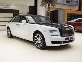 Đúng là đại gia Trung Đông, đến đặt hàng chiếc Rolls-Royce Ghost Series II EWB cũng phải khác người