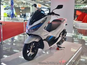 Cận cảnh Honda PCX phiên bản xe điện tại Auto Expo 2018