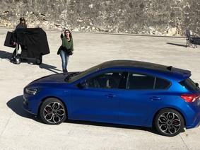 Ford Focus 2019 lộ diện trần trụi, trông giống xe Hàn Quốc