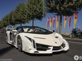"""Lamborghini Veneno Roadster của con trai Tổng thống Guinea Xích đạo bị tưởng là xe """"nhái"""""""