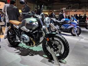 BMW R nineT Scrambler tỏa sáng tại triển lãm Auto Expo 2018