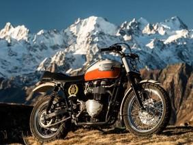 Xe Triumph Bonneville của tài tử Brad Pitt được bán đấu giá