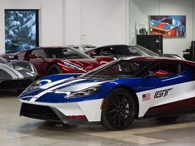 Cận cảnh chiếc siêu xe GT 2018 đặc biệt của chủ tịch Ford Bắc Mỹ